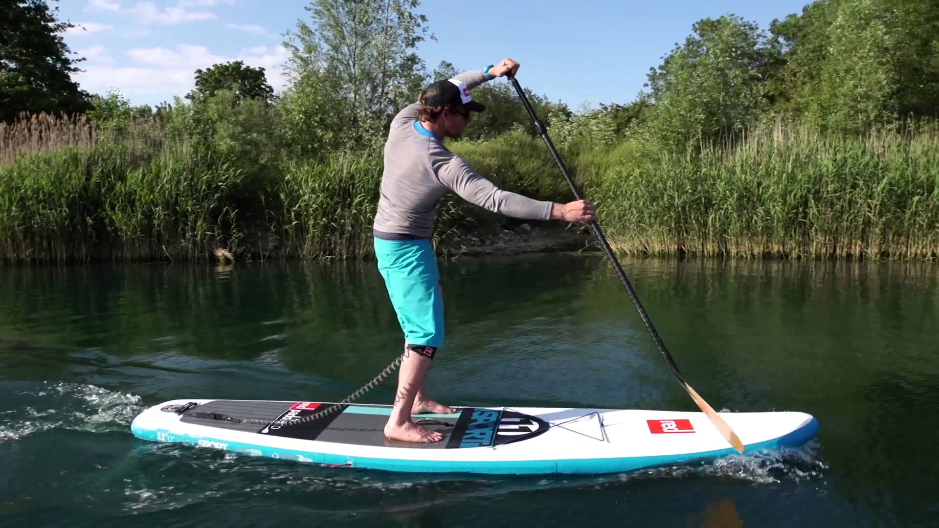 stand up paddle technique